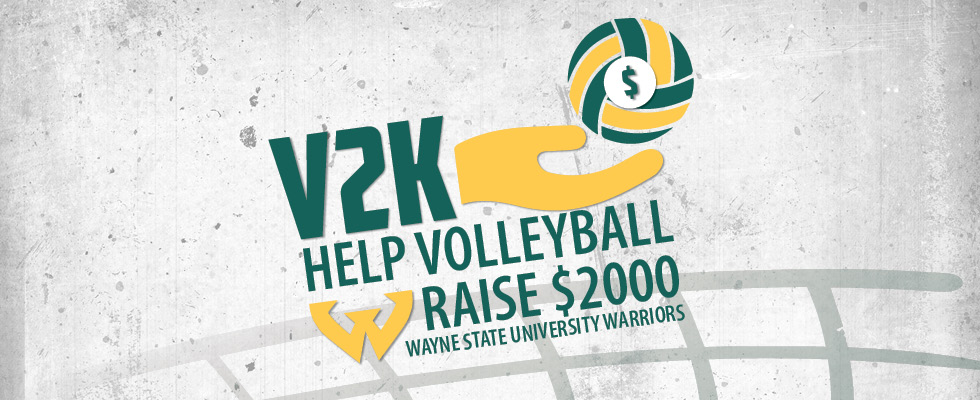 Volleyball Launches V2K Fundraiser - Wayne State University