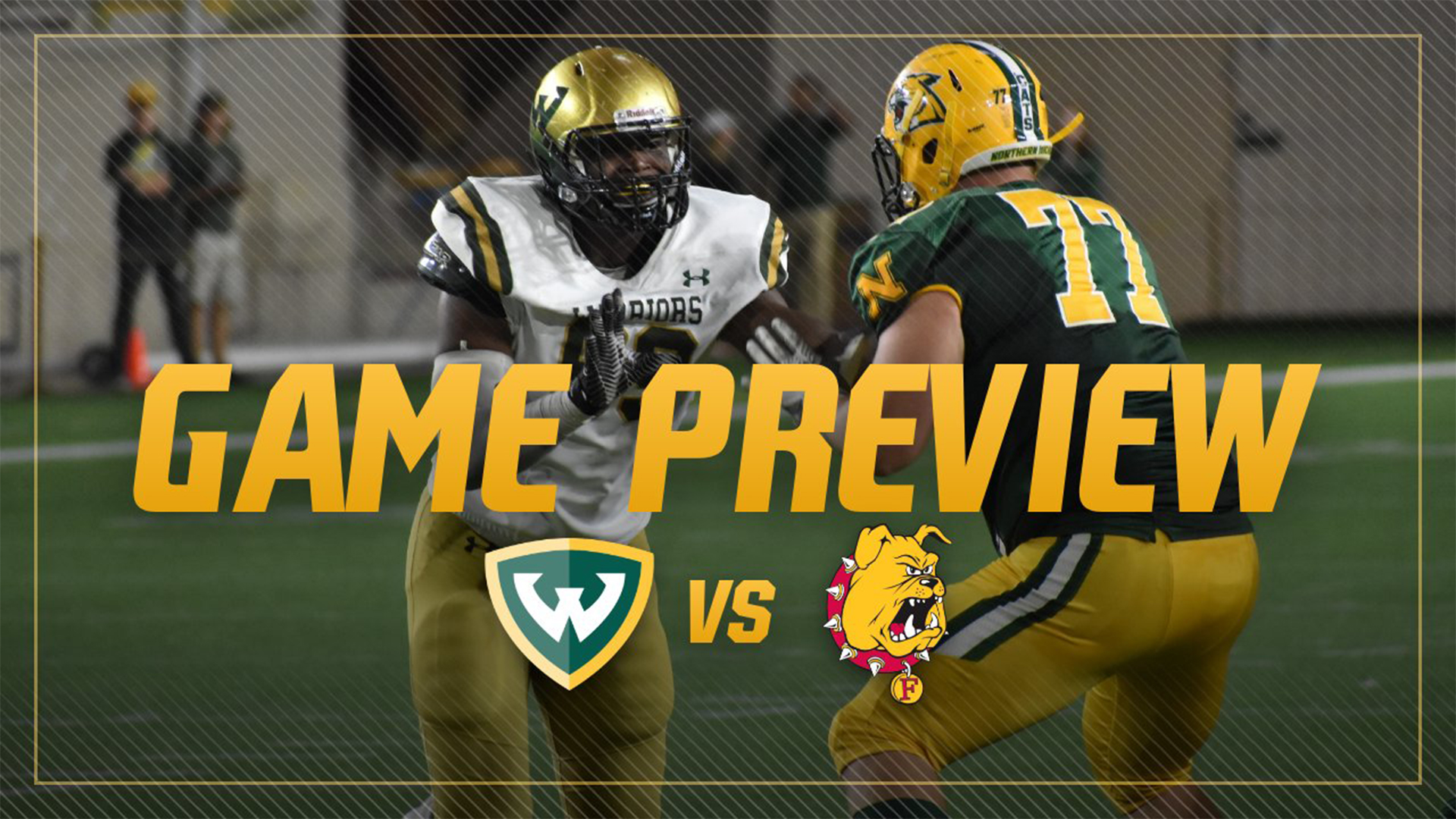 Football Set To Host Second Ranked Ferris State For Homecoming Wayne State University Athletics