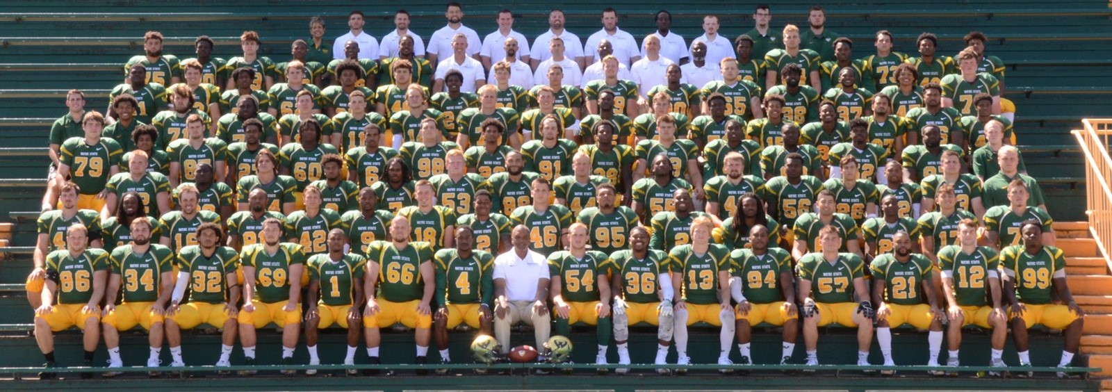 2019 Football Roster - Wayne State University Athletics